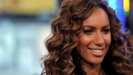 "Leona Lewis appears on MTV's ""Total Request Live"", Jan. 28, 2008, in New York"