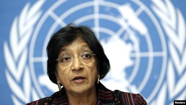 나비 필레이 유엔인권최고대표. (자료사진)