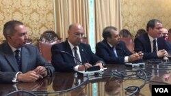 """Luis Almagro expresó que su deber como secretario general de la OEA es velar por el cumplimiento de las normas interamericanas que """"nuestros países han acordado y que nos obligan a todos""""."""