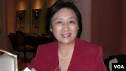北京獨立記者和專欄作家高瑜(資料照片)