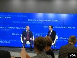 民主黨籍參議員庫恩斯談美中關係。