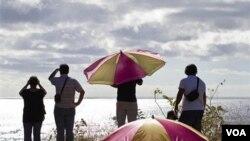 Chile estuvo bajo alerta ante la posible llegada de olas como consecuencia del terremoto y tsunami de Japón.