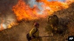 Los incendios forestales en el oeste de EE.UU. ha ido en aumento desde 1984 según un nuevo estudio.