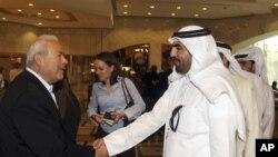 카타르 수도 도하에서 시리아 연합정부 구축 회담에 참석한 반정부 지도자들