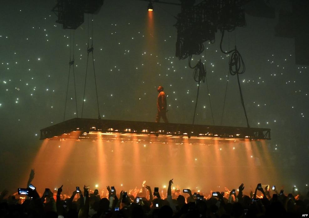Kaliforniya - Repper Keyn Vestin konserti
