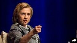 Hillary Clinton apoyó las iniciativas del actual secretario de Estado, John Kerry, tanto en Gaza como en Ucrania.