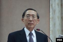 台湾外交部长林永乐(美国之音张佩芝拍摄)