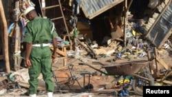 Maiduguri est souvent visée par les bombes des djihadistes (AP Photo/Jossy Ola)
