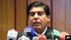 ທ່ານ Raja Pervez Ashraf ອະດີດລັດຖະມົນຕີກະຊວງນໍ້າແລະພະລັງງານ ທີ່ຖືກສະເໜີຊື່ເປັນນາຍົກລັດຖະມົນຕີ ຄົນໃໝ່ຂອງປາກິສຖານ (22 ມິຖຸນາ 2012)