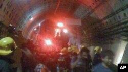 地铁紧急疏散口