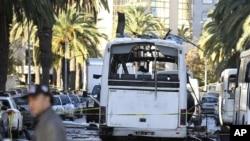 Tunisdə partlayış, 25 noyabr, 2015.