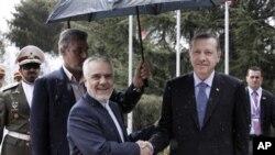 Başbakan Erdoğan İran Birinci Cumhurbaşkanı Yardımcısı Rıza Rahimi ile