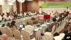 20일 유네스코와 버마 공보부 공동주체로 열린 '버마 언론자유증진 논의' 컨퍼런스.