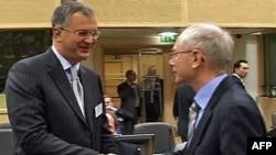 Ministar odbrane Srbije i predsednik Evropskog saveta