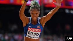 Yulimar se proclamó campeona de triple salto en el Mundial de Londres.