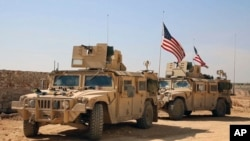 شام میں امریکی فورسز (فائل فوٹو)