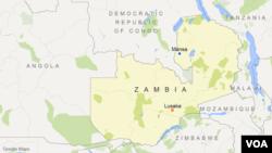 Bản đồ khu vực Mansa, Zambia.