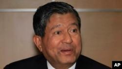 FILE - Thailand's Labor Minister Chalerm Yubamrung.