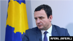 Premijer Kosova Aljbin Kurti (Foto: RFE)