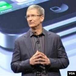Tim Cook, akan menggantikan Steve Jobs sebagai CEO Apple yang baru.