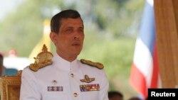 Thái tử Thái Lan Maha Vajiralongkorn.