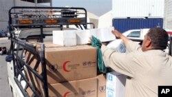 Bantuan pangan kemanusiaan bagi jutaan pengungsi Suriah yang dikelola WFP (foto: dok).