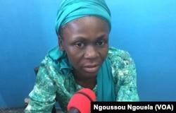 Amandine Boussambote, le 16 février 2018. (VOA/Ngoussou Ngouela)