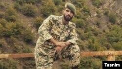Un soldat de l'armée iranienne en Syrie