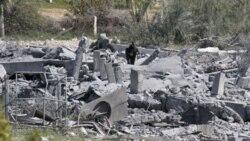 اسرایيل يک اردوگاه امنيتی درغزه تحت کنترل حماس را بمباران کرد