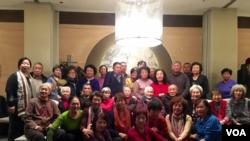 中国人权图片 天安门母亲在京部分难属2016年年末相聚