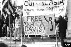 Biểu tình phản đối chiến tranh Việt Nam tại Boston, 1970