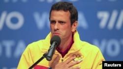 Capriles, al reconocer la derrota, manifestó que seguirá trabajando por Venezuela.