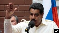 베네수엘라의 니콜라스 마두로 대통령. (자료사진)