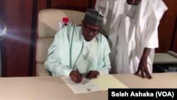 Presiden Nigeria, Muhammadu Buhari (foto: dok).