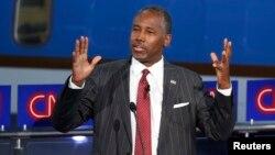Ứng cử viên Tổng thống Đảng Cộng hòa Mỹ Tiến sĩ Ben Carson.