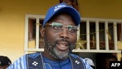 Sabon Shugaban Liberia George Weah