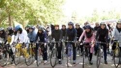 فاطمه آلیا: استفاده زنان از دوچرخه با فرهنگ عمومی تناسب ندارد