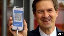 Jerman memperkenalkan sertifikat vaksinasi COVID-19 digital (foto: dok).