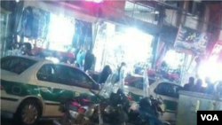 فضای امنیتی شهرری شاه عبدالعظیم، پنجشنبه شب