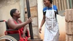 Portadores de deficiencia ameaçam manfiestaçao em Angola - 3:04