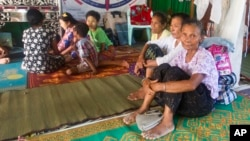 Беженцы, мусульмане-рохинджа т