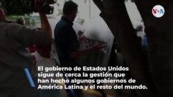 EE. UU. vigila la situación de los Derechos Humanos en Nicaragua, Venezuela y Cuba