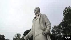 Statua Sema Hjustona u Hantsvilu, saveznoj državi Teksas