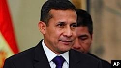 Peruvian President-elect Ollanta Humala
