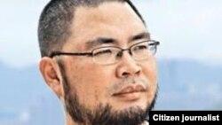 中國媒體人、人權活動人士北風(溫雲超) 圖片來源:北風