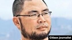 中国媒体人、人权活动人士北风(温云超) 图片来源:北风