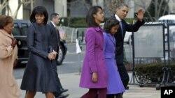 Mişel Obama - inaqurasiya