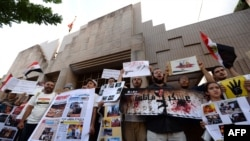 世界各国人士抗议埃及军方镇压穆尔西支持者
