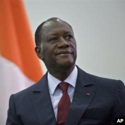 Alassane Dramane Ouattara, le président ivoirien reconnu par une grande partie de la communauté internationale