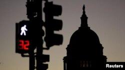 El capitolio de Estados Unidos en Washington, en el día 32 de un cierre parcial del gobierno, el más largo en la historia de la nación. Enero 22 de 2019.